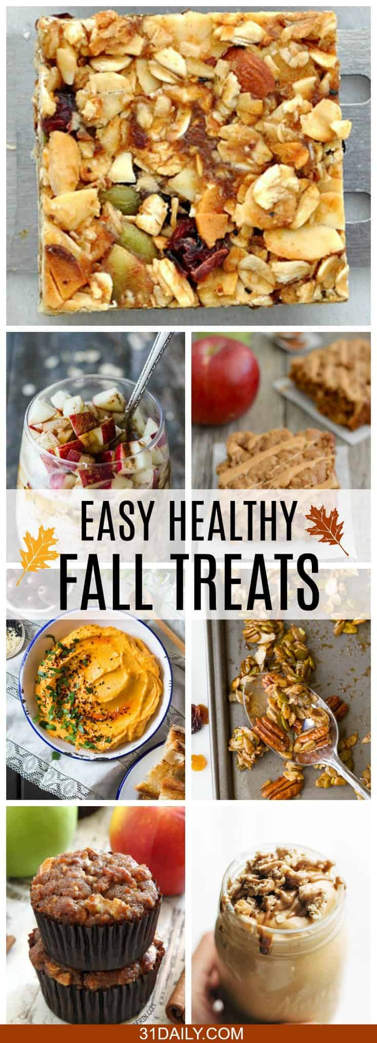 Easy and Healthy Fall Treats | 31Daily.com