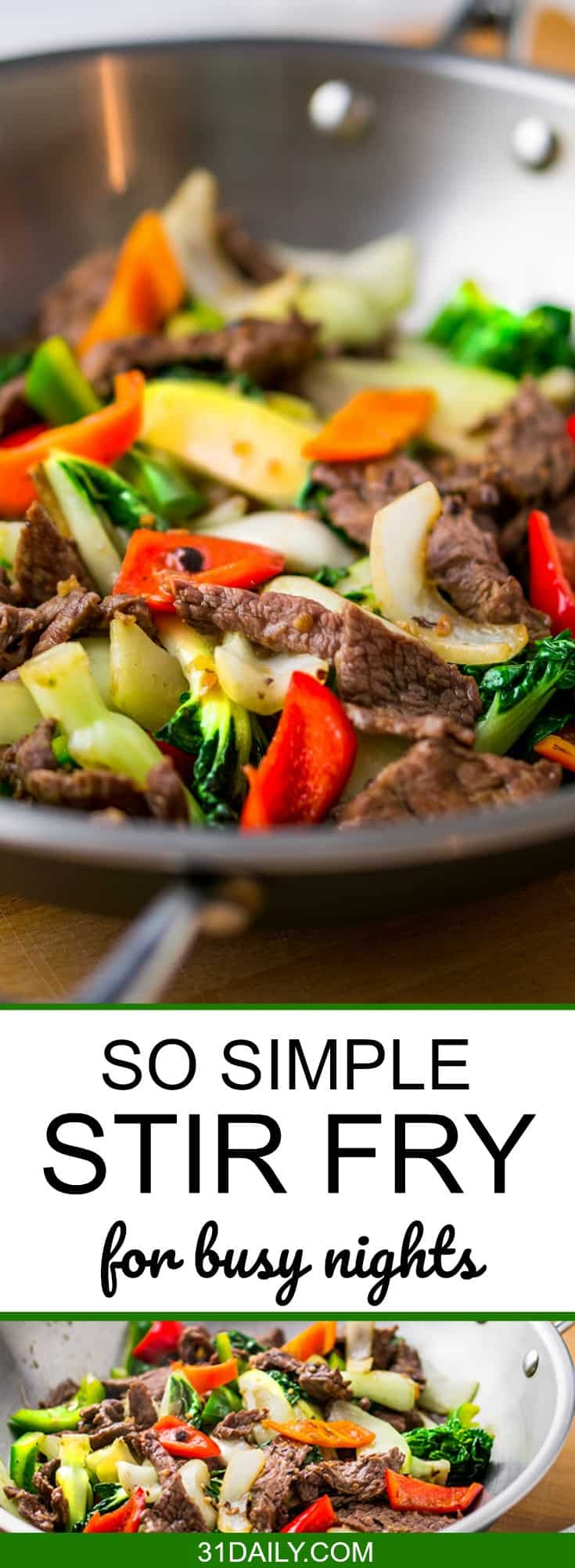 So Simple Stir Fry | 31Daily.com