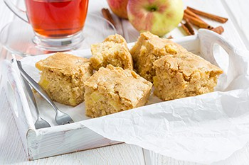 Apple Cinnamon Blondies Recipe | A Perfect Fall Treat | 31Daily.com