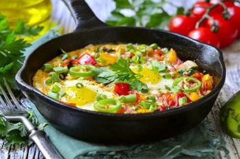 Israeli Comfort Food: Mediterranean Shakshuka | 31Daily.com