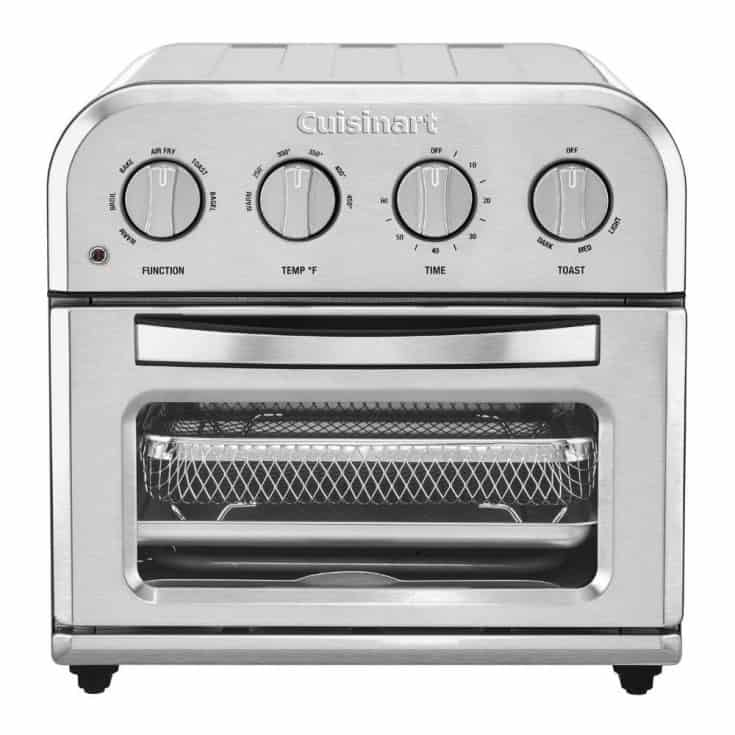 Compact Cuisinart Toaster Oven and AirFryer
