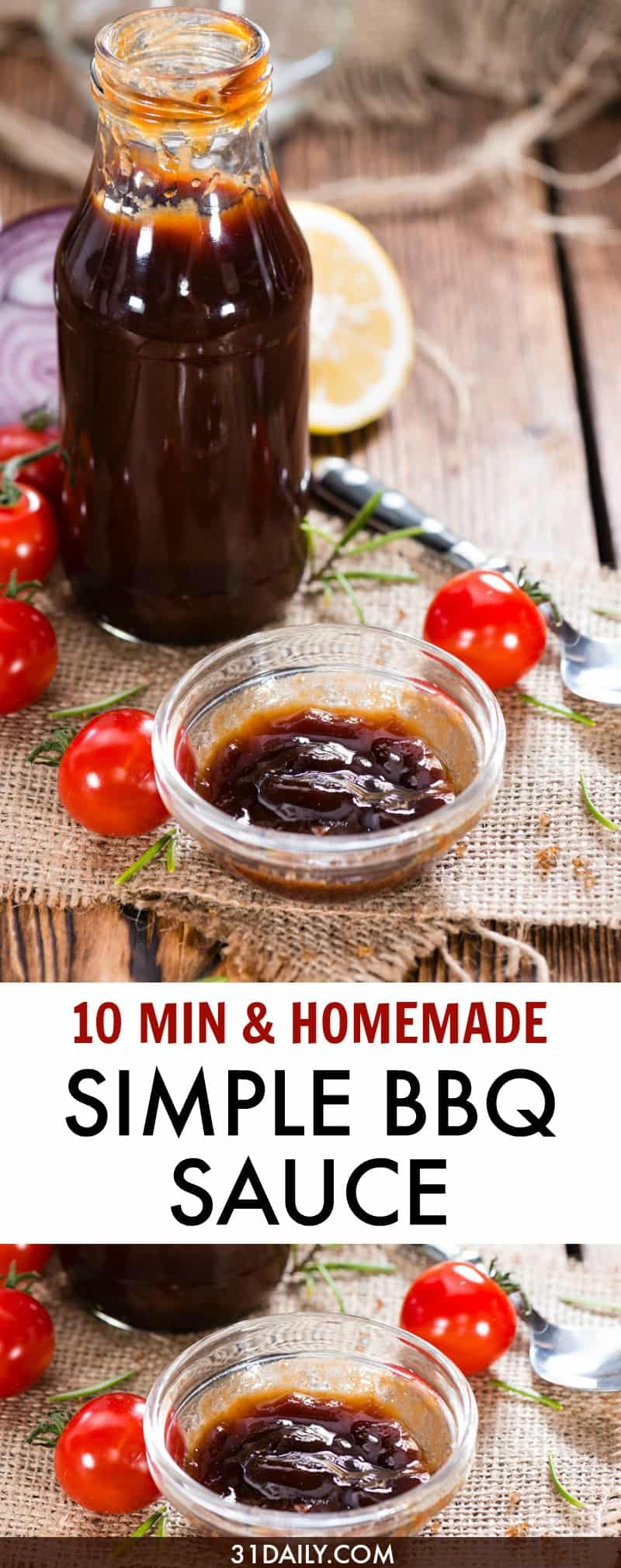 A Simple Barbecue Sauce That's Sweet and a Tad Spicy | 31Daily.com