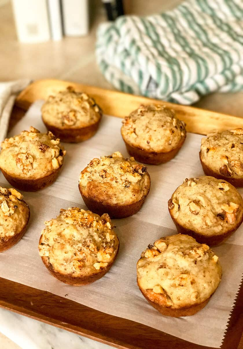 Classic Banana Nut Bread Muffins | 31Daily.com
