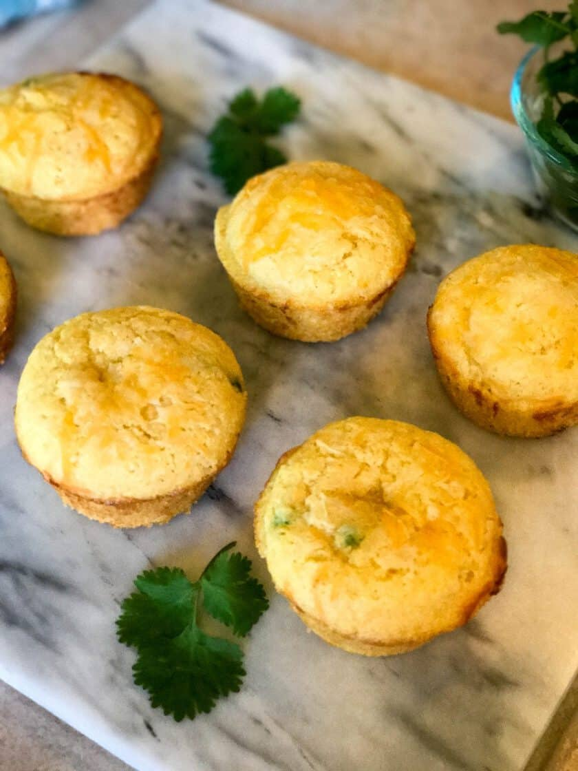 Jalapeno Popper Corn Muffins with Bacon and Cheddar   31Daily.com