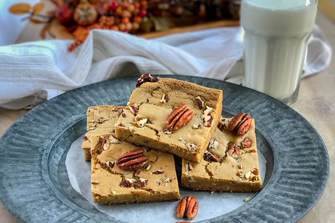 Vermont Maple Pecan Bar Cookies