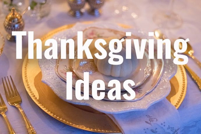 Thanksgiving Ideas at 31Daily