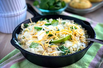 White Chicken Chili with Thai Basil and Cilantro | 31Daily.com