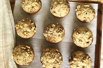 Classic Banana Nut Bread Muffins | 31Daily.com