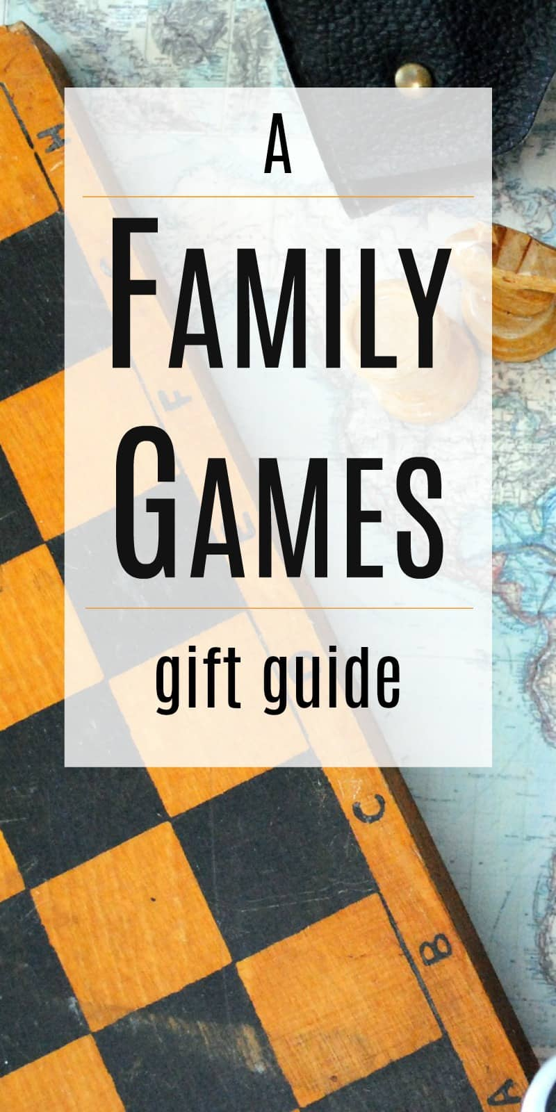 Best Family Games Christmas Gift Guide | 31Daily.com