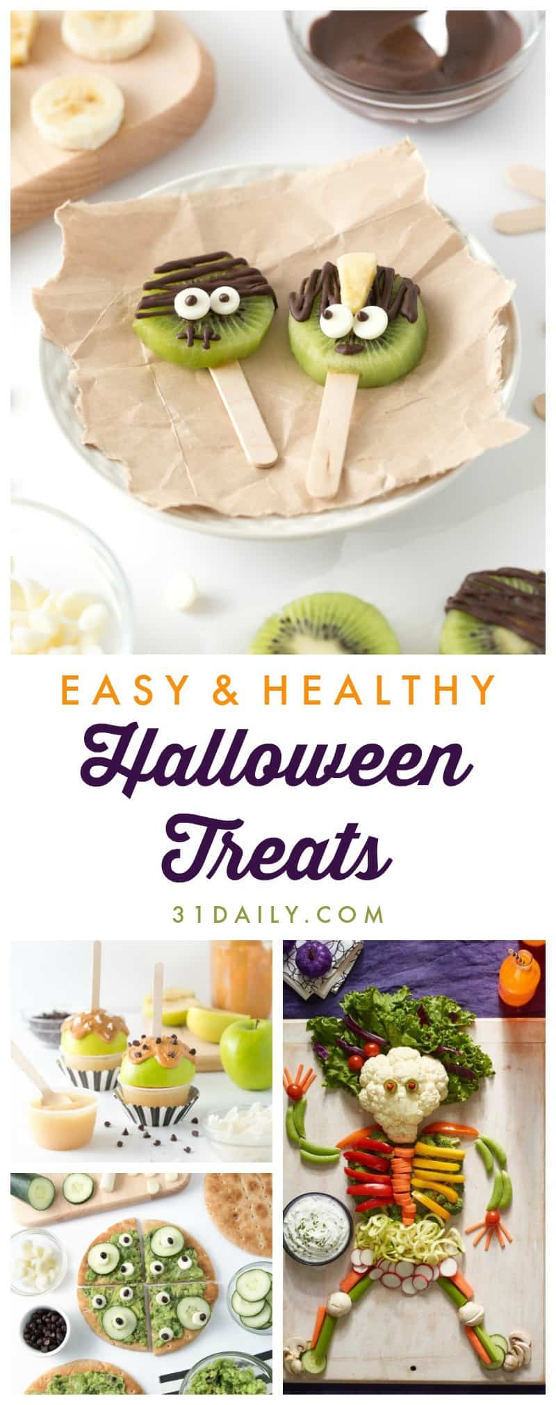 easy fun healthy halloween treats your trick or treaters will love 31daily