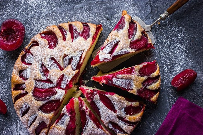A Plum Cake You'll Want to Make Time and Again | 31Daily.com