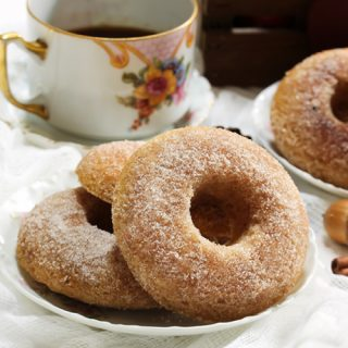 Old Fashioned Baked Apple Cider Doughnuts   31Daily.com