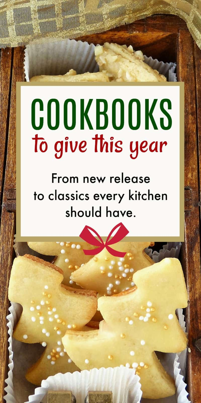 Best Cookbooks to Give This Year | 31Daily.com