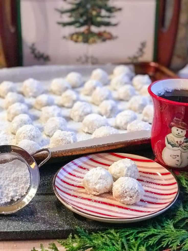 Is it Russian Teacakes or Christmas Snowball Cookies?