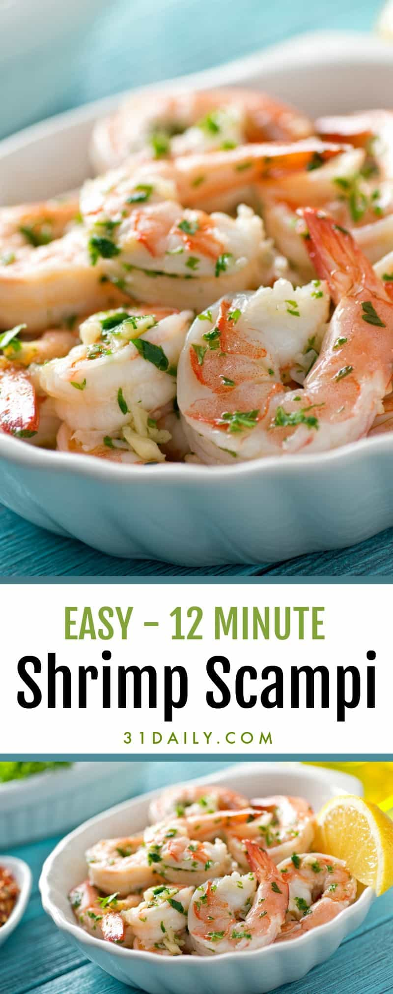 Easy Shrimp Scampi with Garlic and Lemon | 31Daily.com