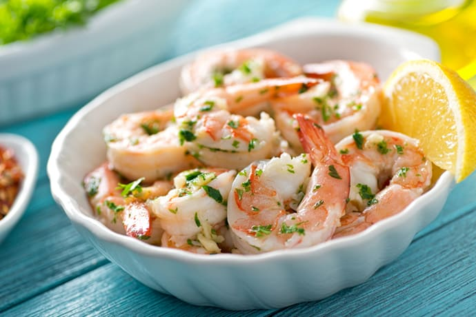 Easy Shrimp Scampi with Garlic and Lemon