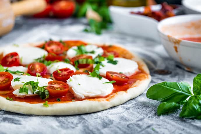Homemade Margherita Pizza Recipe: Simple Weekend Eats | 31Daily.com