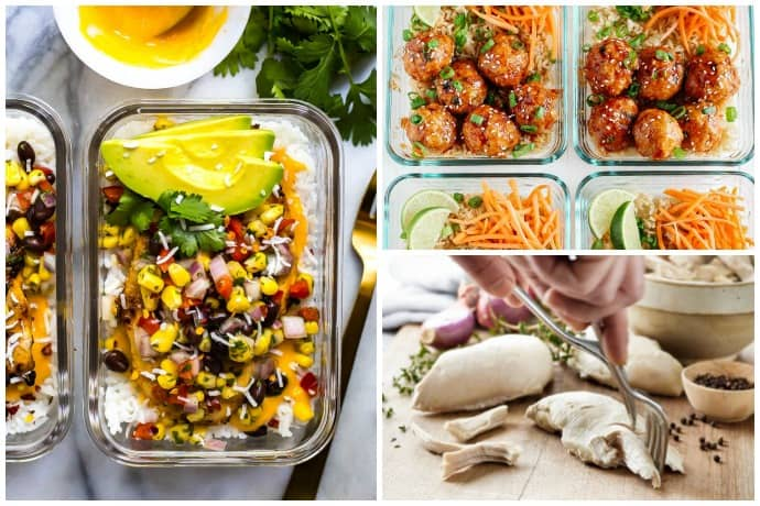 5 Easy Ways to Meal Prep for the Week Plus Healthy Recipes to Try