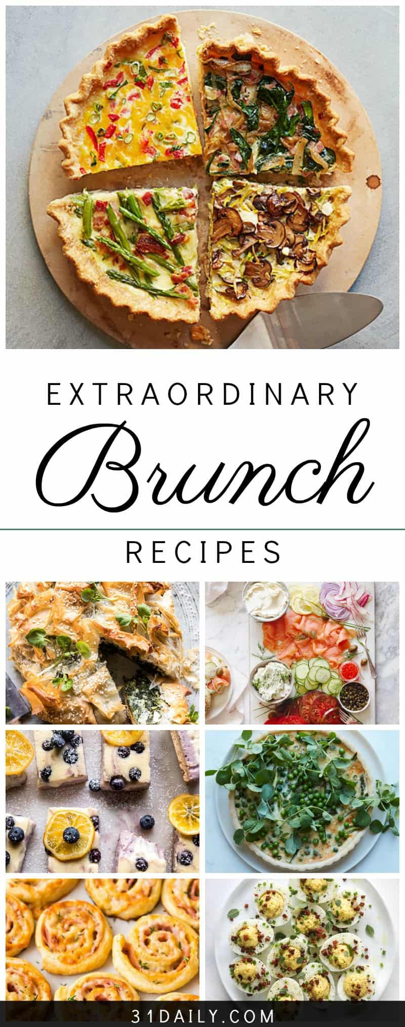 Extraordinary Recipes to Make Your Best Ever Brunch | 31Daily.com