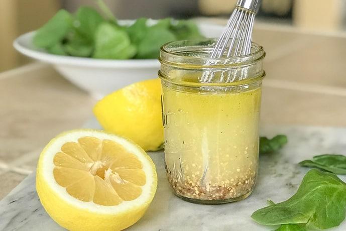 Easy and Delicious Lemon Vinaigrette