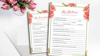 About My Mom: Mother's Day Questions to Ask