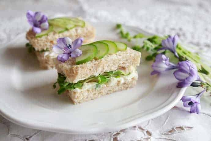 Easy Tea Sandwiches to Make Ahead | 31Daily.com