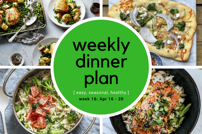 31 Daily Weekly Dinner Meal Plan -- Week 16 | 31Daily.com