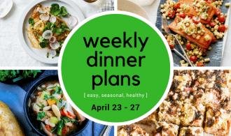 Weekly Dinner Meal Plan // Week 17 | 31Daily.com