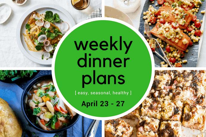 Weekly Dinner Meal Plan // Week 17