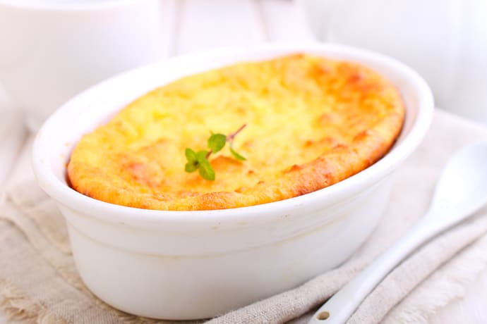 Sweet Kentucky Spoonbread Corn Pudding