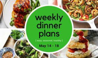 Weekly Dinner Plan // Week 20 | 31Daily.com