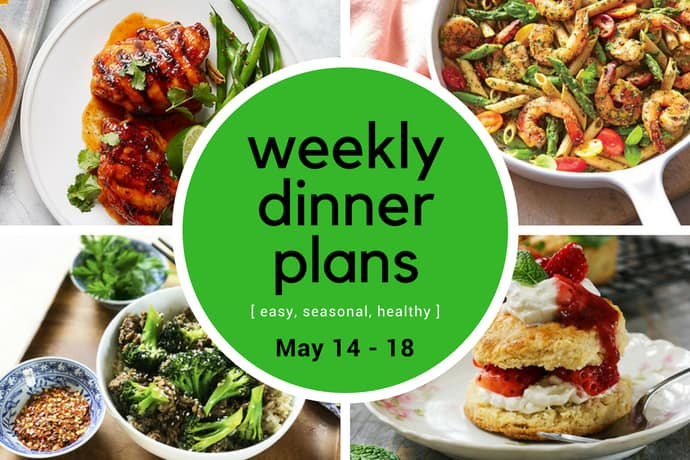 Weekly Dinner Meal Plan // Week 20 | 31Daily.com