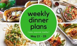 Weekly Dinner Meal Plan // Week 21 | 31Daily.com