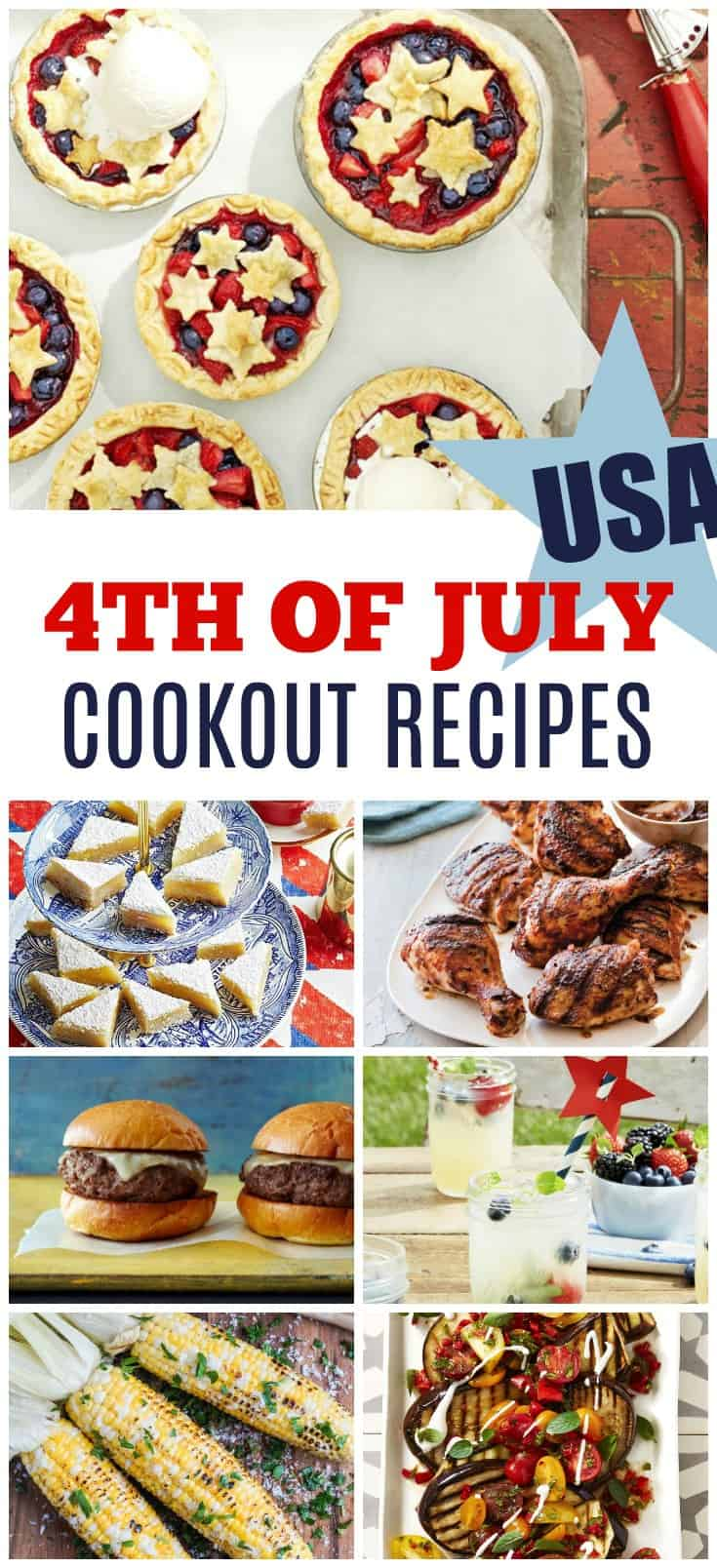 Easy 4th of July Cookout Recipes and Ideas | 31Daily.comsy 4th of July Cookout Recipes and Ideas | 31Daily.com