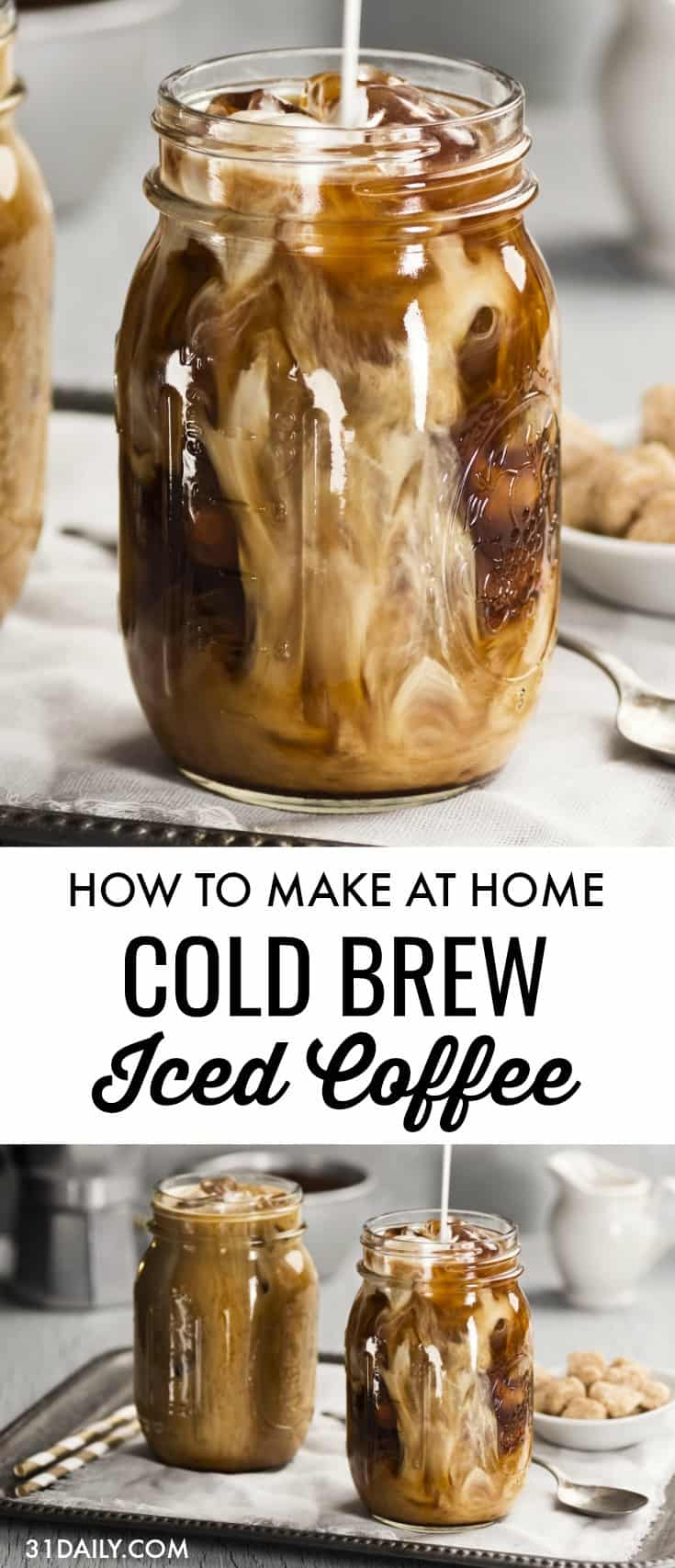 How to Make Homemade Cold Brew Coffee | 31Daily.com