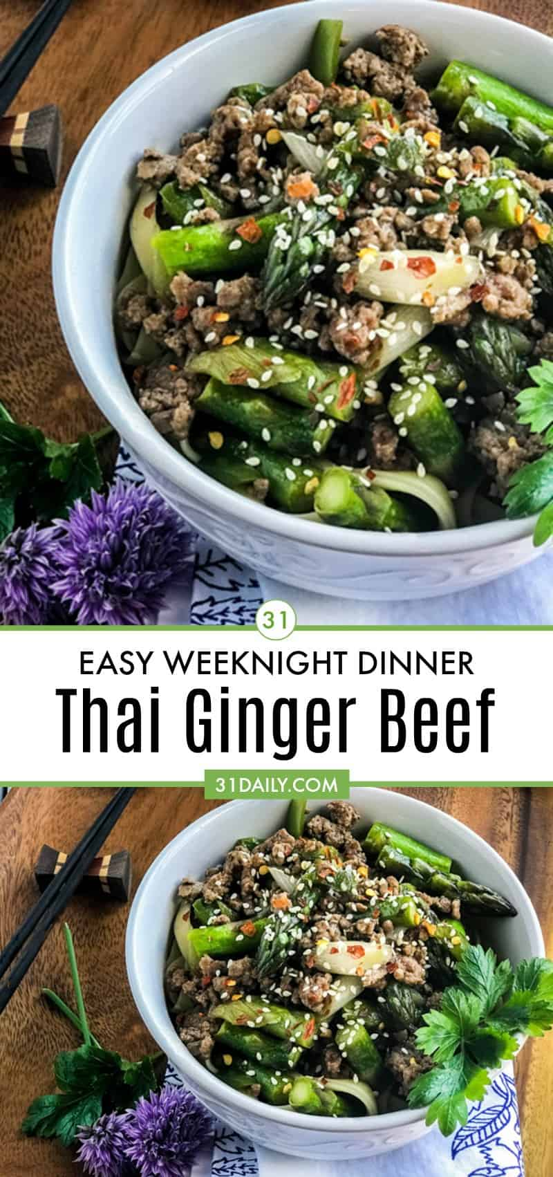 Thai Ginger Beef: a Simple and Easy Weeknight Meal   31Daily.com
