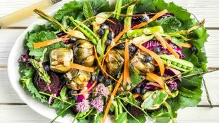 An Antipasto Style Summer Garden Roasted Salad