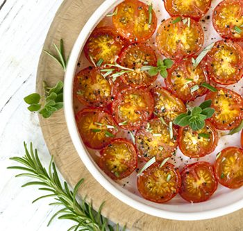 Quick Roasted Tomatoes with Herbs | 31Daily.com