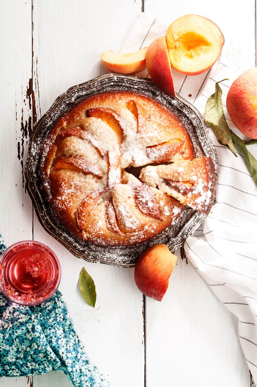 German Peach Kuchen: A Perfect Seasonal Treat | 31Daily.com