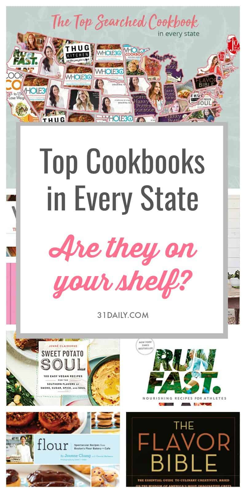 Most Searched Cookbooks This Year | 31Daily.com