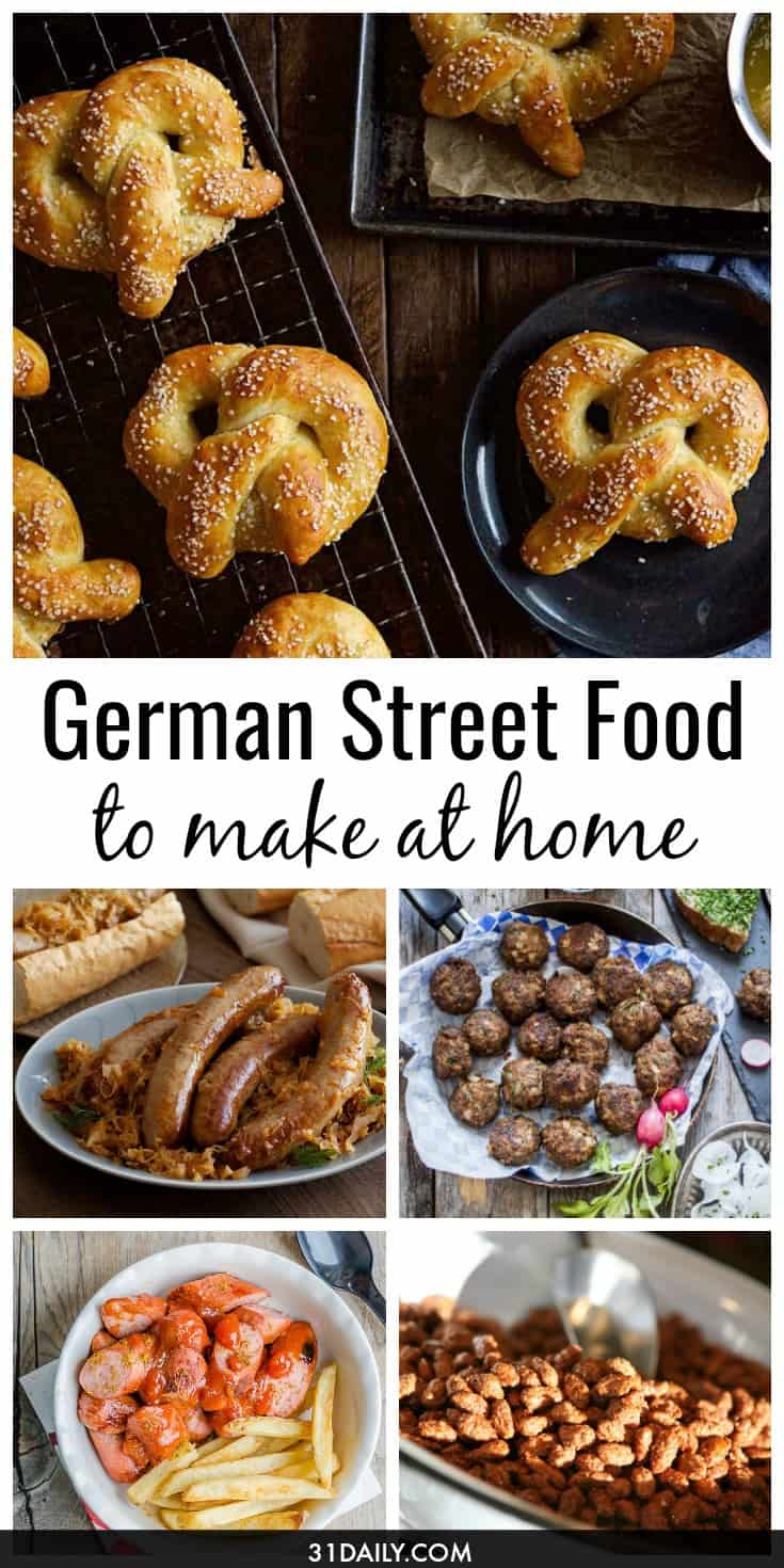 Easy German Street Food Ideas to Make at Home | 31Daily.com