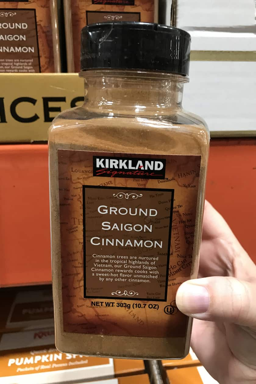 Costco Products You Can't Live Without - Cinnamon