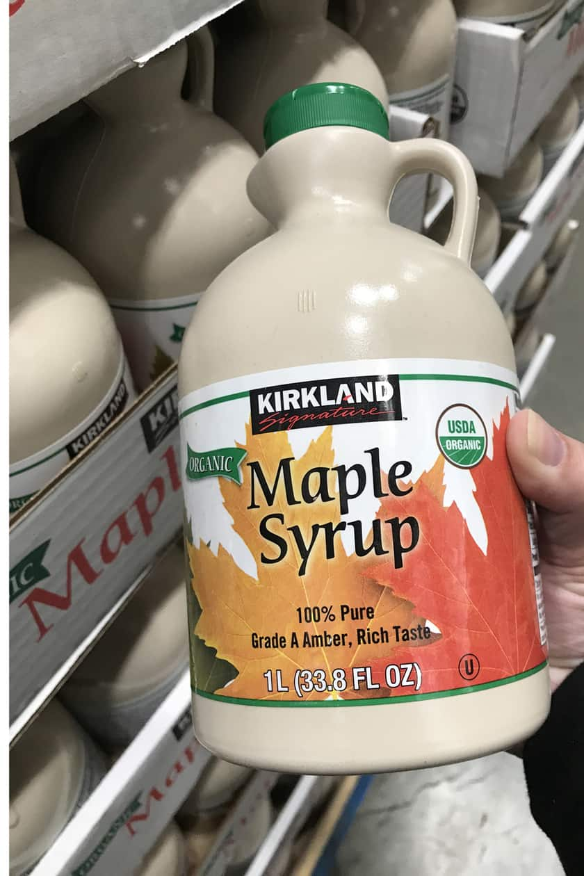 Costco Products You Can't Live Without = Maple Syrup