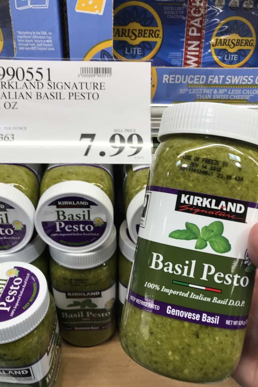 Costco Products You Can't Live Without - Basil Pesto