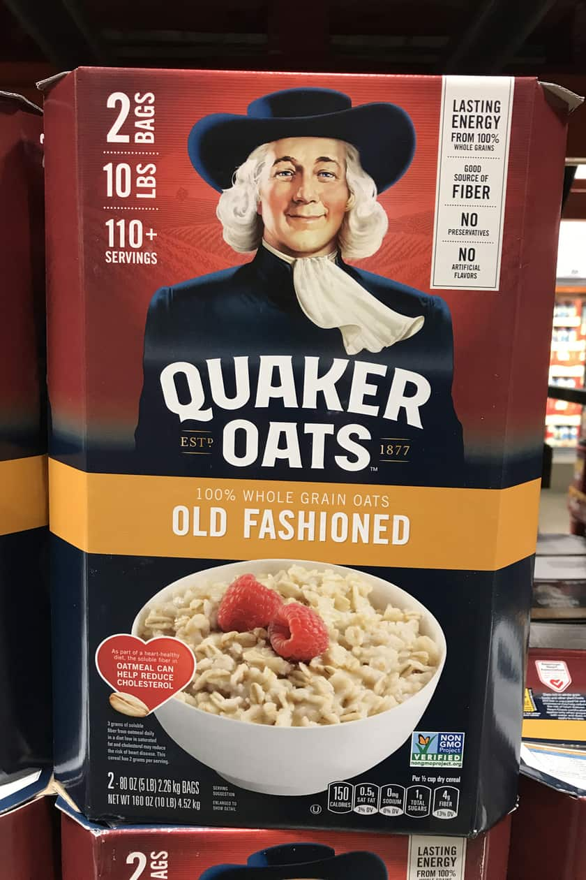 Costco Products You Can't Live Without - Quaker Oats