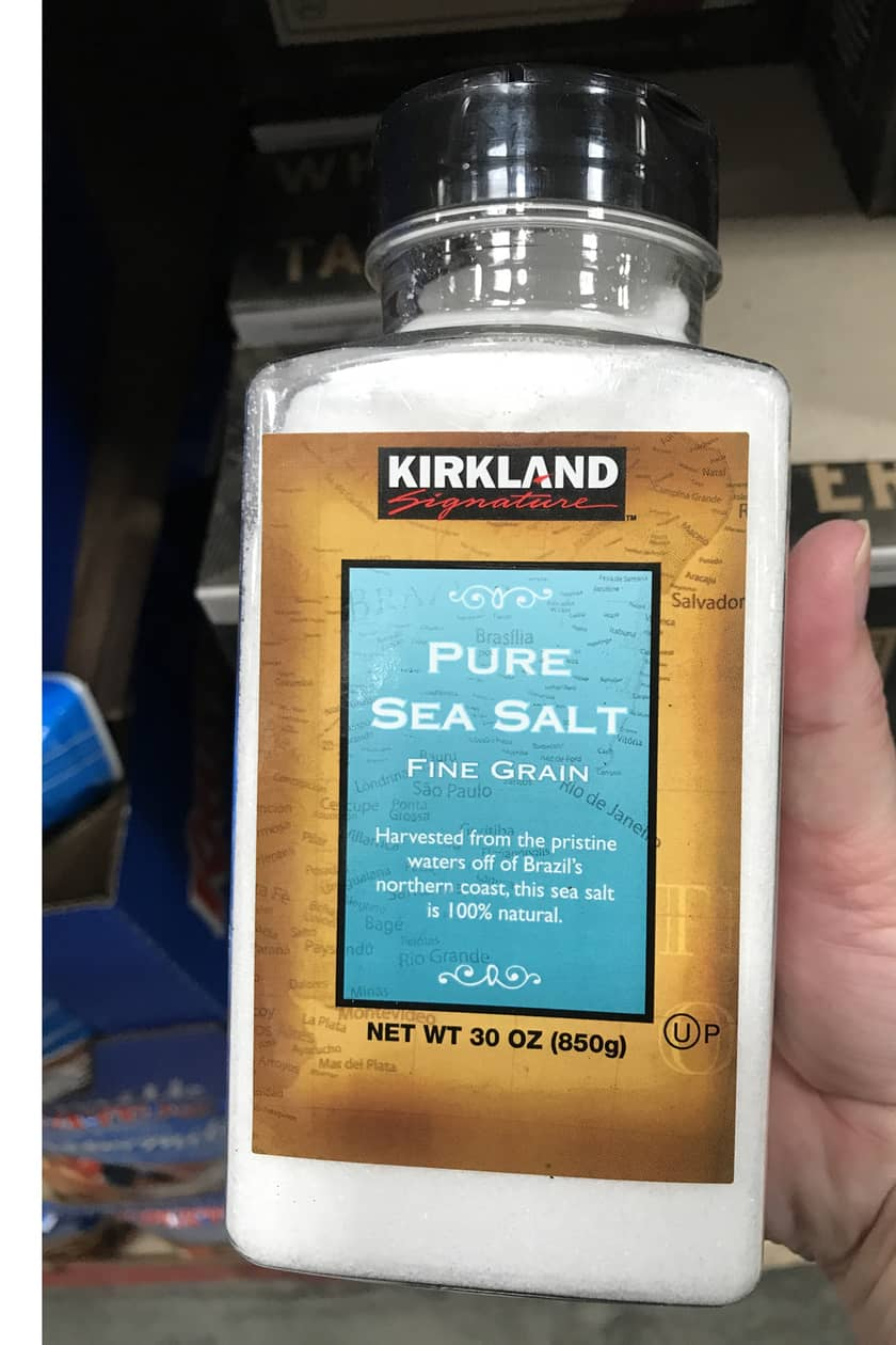 Costco Products You Can't Live Without - Sea Salt