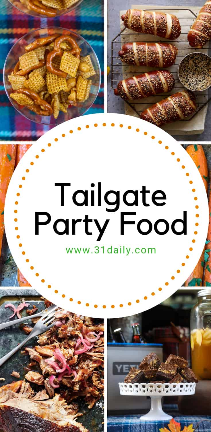 Amazingly Perfect Tailgate Party Foods for Football Season | 31Daily.com