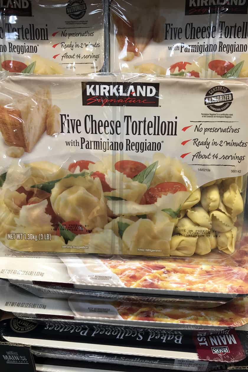Costco Products You Can't Live Without - Cheese Tortellini