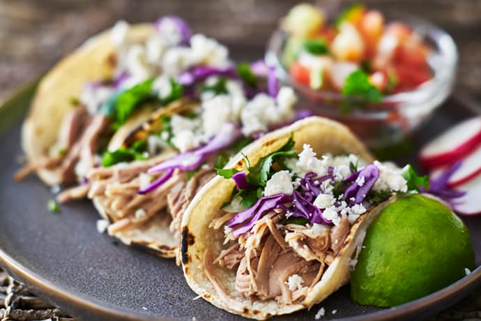 Apple Spiced Slow Cooker Pork Carnitas | 31Daily.com