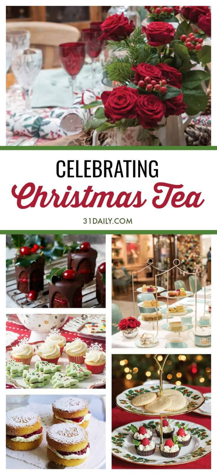 Hosting a Christmas Tea to Celebrate the Holidays | 31Daily.com